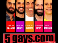 5 GAYS.COM DESPEDIDA DE SOLTERO VISITA LA TRASNOCHE DE LOS SÁBADOS DEL TINGLADO.
